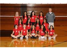 2017 Girls Volleyball Freshmen C