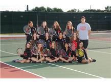 2017 Girls Tennis JV