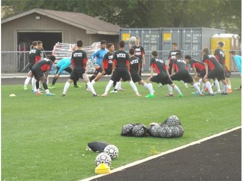 Varsity Rams Circle Up