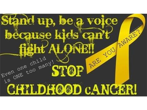 2015 Childhood Cancer Awareness Month
