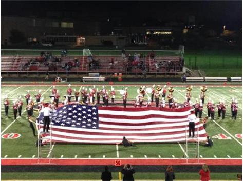 2015 Remembering 9/11 (Flag Display)