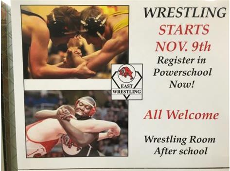 Join Wrestling, be part of a great 2015-16 Rams athletic experience!