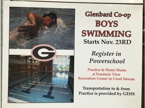 Join Boys Swimming, be part of a great 2015-16 Rams athletic experience!