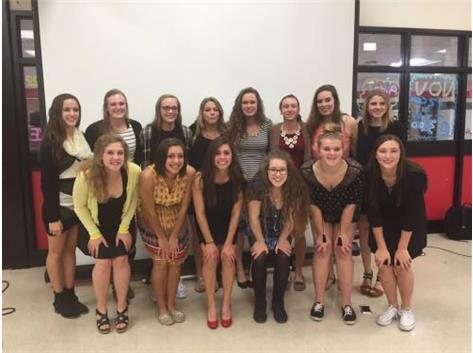 2015 Lady Rams Awards Banquet Photo
