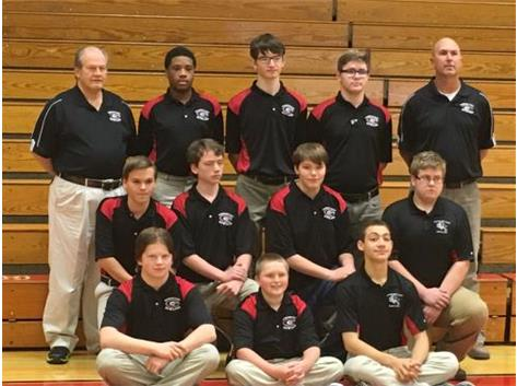 2015-16 Boys Bowling Team