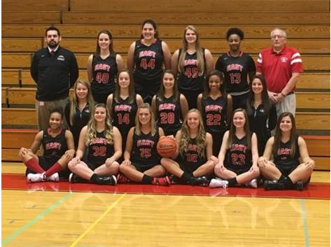 2015-16 Varsity Girls Basketball Team