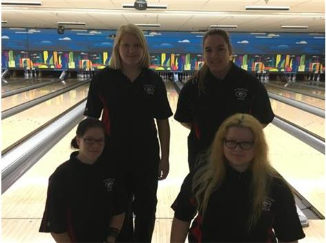 2015-16 Girls Bowling Team