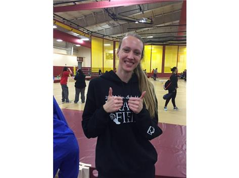 Abbey Hoh wins 2016 UEC high jump championship!