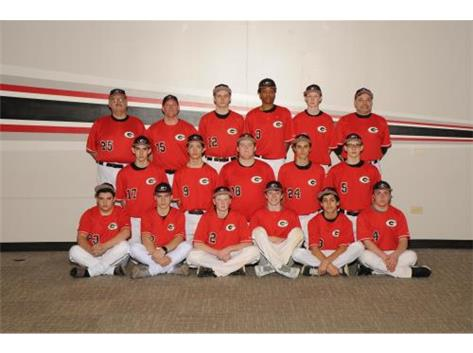 2016 Sophomore Baseball Team