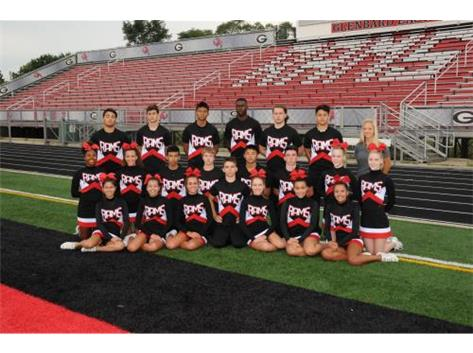 2016 Varsity Cheer (Sideline)