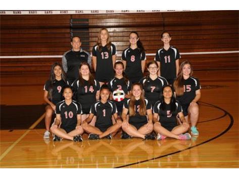 2016 Freshmen B Girls Volleyball