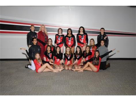 2016-17 JV1 Girls Gymnastics