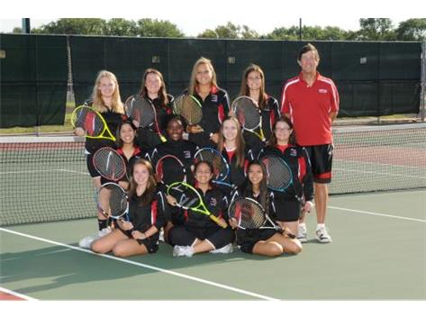 2017 Girls Tennis Varsity