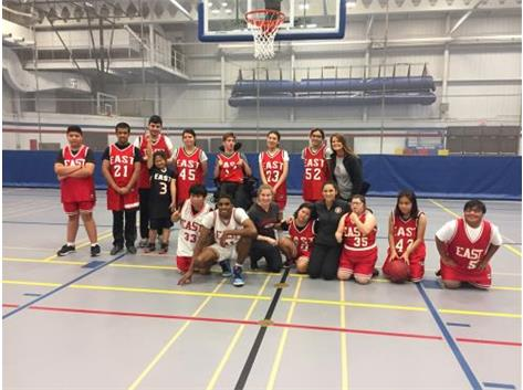 2017 Special Olympics Basketball vs. Glenbard South