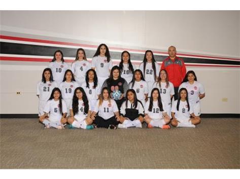 2018 Girls Soccer JVII