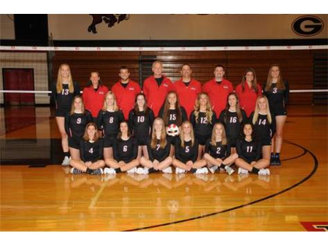 2018 Girls Volleyball Varsity