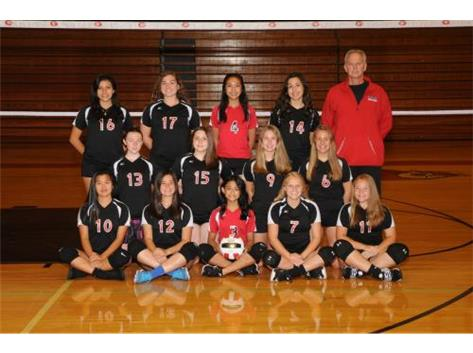 2018 Girls Volleyball Freshmen B