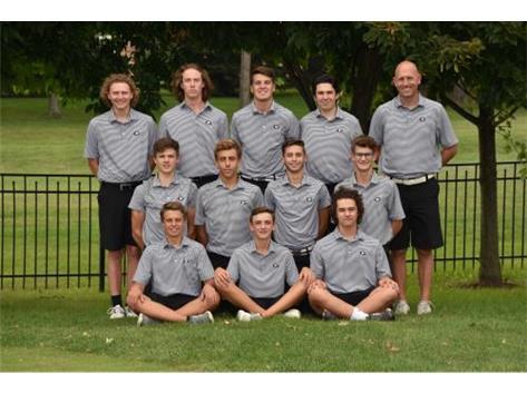 2018 Boys Golf Varsity
