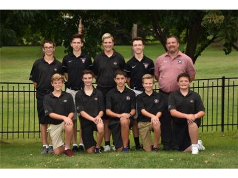 2018 Boys Golf JVII