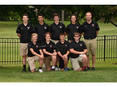 2018 Boys Golf Sophomores