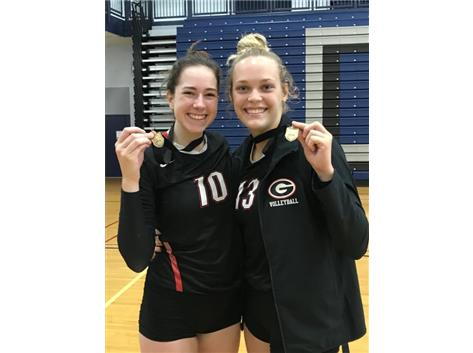 Girls Volleyball: Elliott and Girls Volleyball: Elliott and Hamaker earn All-Tournament Metea Valley