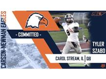 Congratulations to Tyler Szabo! He will be playing football next year at Carson - Newman University