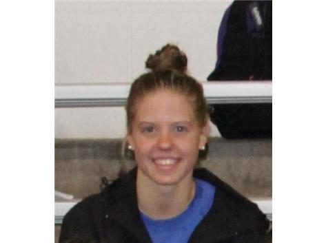 Congratulations to Amber Finke! Girls Swimming IHSA State Finals!