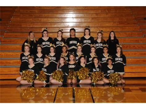 2018-2019 Varsity Basketball Cheer