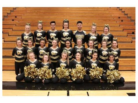 Congrats to Varsity Cheer for making State! Good Luck this weekend!