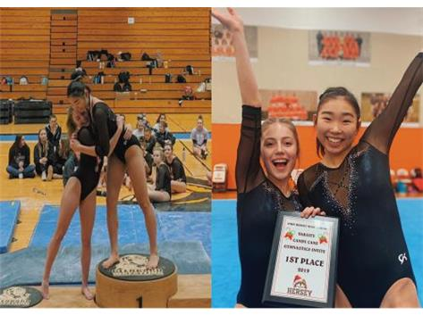Congratulations to Katie Wagner and Sarah Ozeki! This year's Girls Gymnastics State Qualifiers.