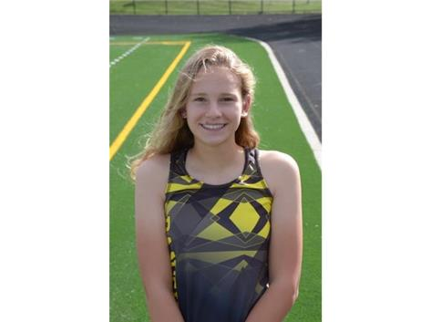 Grace Schager 2020 Sectional Qualifier in Girls Cross Country