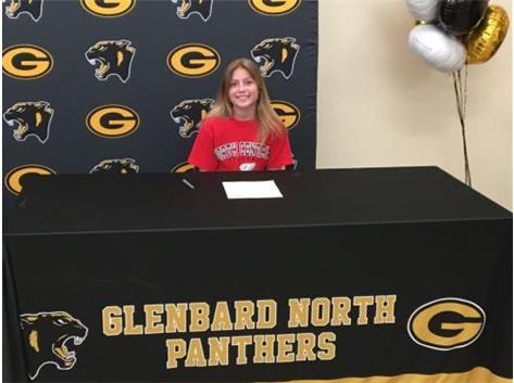 Congratulations Katie Wagner! She will be running next year at North Central