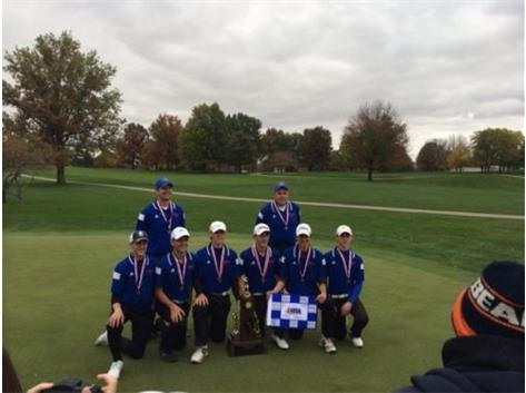 Boys Golf IHSA Class 2A State Runner Up