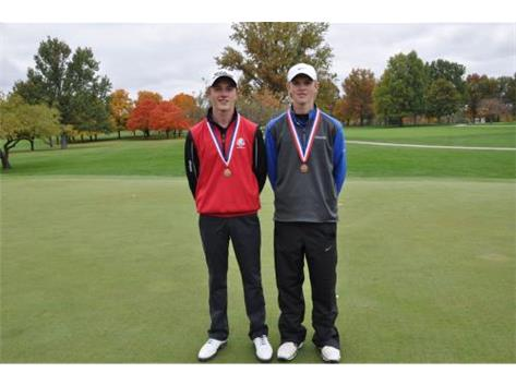 Russell Matos and Michael Wittenberg are ALL STATE for the Raiders!