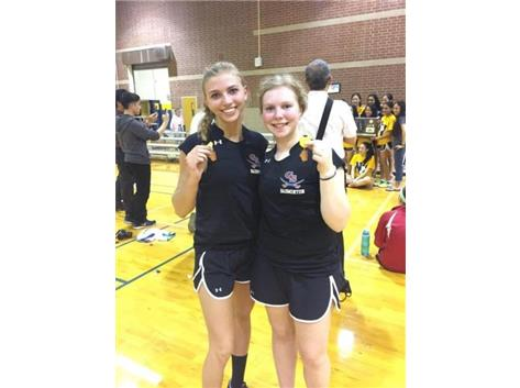 Lydia and Emily headed to IHSA State Badminton Finals!