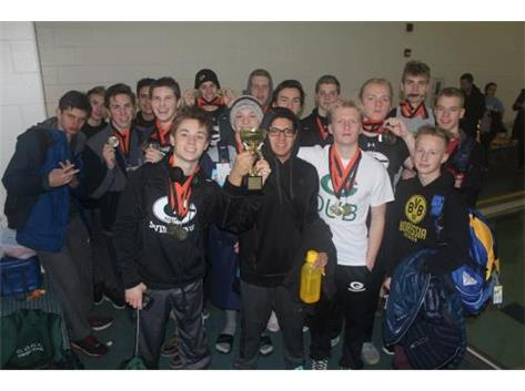 Boys Varsity Swim Wins Little Village Relays-2016