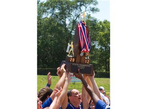 2012 IHSA 3A State Softball Champions