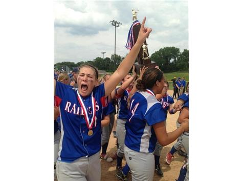 2013 State Champs Softball Team