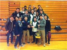 Boys JV Gymnastics District 87 Champs!