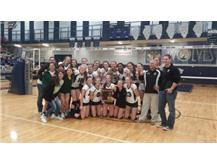 Congratulations!! Girls Volleyball 3rd. Consecutive Regional Winners! GO HILLTOPPERS!!!