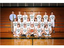 2015-2016 Varsity Boys Basketball team.