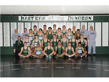 2015-2016 Varsity Wrestling team.