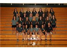 2015-2016 Girls Golf Team