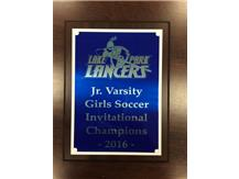 Junior Varsity 2016 Lake Park Lancers Invitational Champions