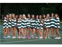 2016 Girls Tennis team