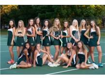 2016 Girls Tennis team.