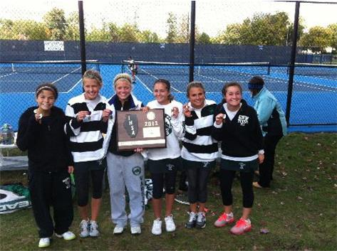 Girls Tennis Sectional Winners