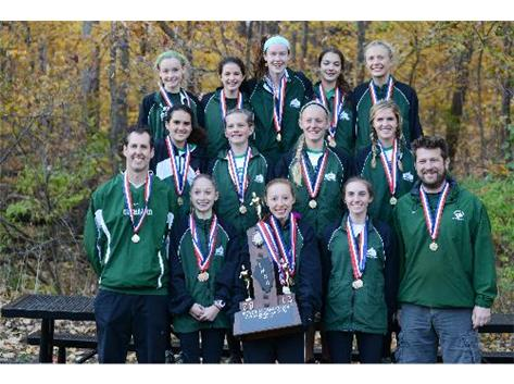 Girls Cross Country State Champions! First in school history!