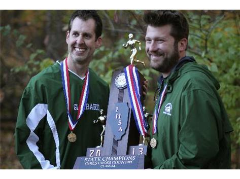Congratulations to Coach Hass and Coach Staron!