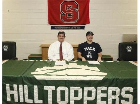 Signing Day, Eric Shute & Hayden Carlson